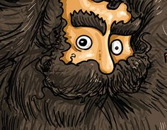 "Check out new work on my @Behance portfolio: ""Evolução da barba""…"