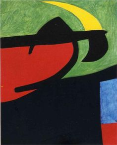 Catalan Peasant in the Moonlight - Joan Miro