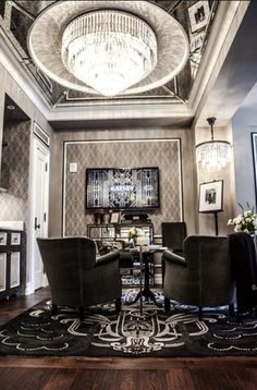 Great Gatsby inspiration -- images from the Fitgerald Suite at the Plaza Hotel, New York