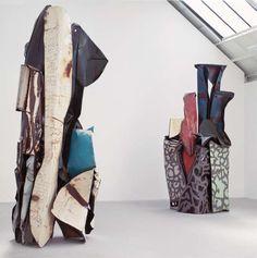 John Chamberlain - Fenollosa's Column (1983), The Arch of Lumps (1983)
