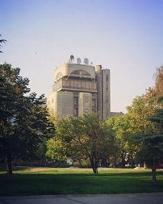 Пошта #tbt #Скопје #Skopje #architecture #brutalism by architechtone