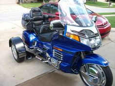 1996 Honda GL1500 Voyager Trike Touring , Electric Blue, 17,962 miles for sale in Indianapolis, IN