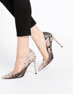 Zapatos de punta con tacón alto PLATINUM de ASOS