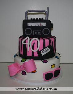 80's Cake - by cakewalkheather @ CakesDecor.com - cake decorating website