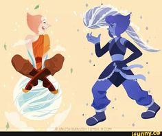 atla and steven universe crossover