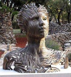 Gil Bruvel, Dichotomy..Inspirational Sculpture Art