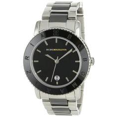 BCBG MAXAZRIA Women's 'Boyfriend' Black Ceramic Watch - BG8265