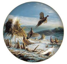 Startled Pheasants Collector Plate by Terry Redlin $34.95