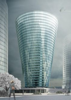 Torre de oficina by Souto Mora Arquitectos (People's Republic of China) #architecture