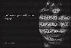 Jim Morrison - King of Orgasmic Rock [ Wallpapers, Quotes