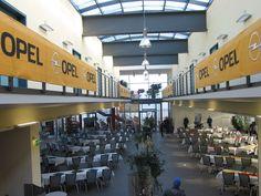 Branding-Möglichkeiten gibt es viele im ADAC Fahrsicherheitszentrum Grevenbroich #opel