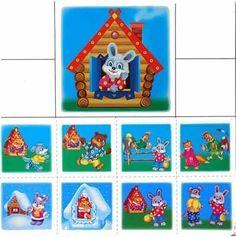 Лото «Расскажи сказку» Лото по сказкам: - Лиса и заяц; - Маша и медведь; - Курочка ряба; - Репка; - Колобок; - Теремок. Kindergarten, Playing Cards, Calendar, Education, Games, Holiday Decor, Children, The Creation, School