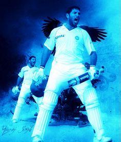 Yuvraj Singh #YuvStrong #Cricket Yuvraj Singh, Sports Personality, Cricket, Inspirational, Fan, Indian, People, Cricket Sport, Hand Fan