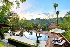 Paradijselijke afzondering in een jungleresort op Bali, incl. ontbijt, dagelijkse afternoon-tea, meditatie & veel meer