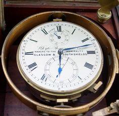 "Chronomètre de marine ""Whyte, Thomson & Co"", Glasgow circa 1910..."