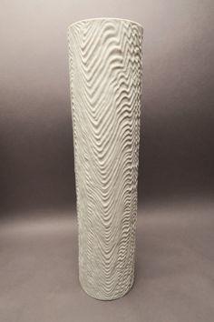 Rosenthal Vase weiß matt  Bisquit 2023 Martin Freyer ca. 39,7 cm hoch