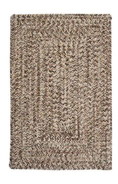 Looking for a rug that never goes out of style? This is it. The practical colors in this textured tweed-design rug bring a casual elegance to any room in the home.