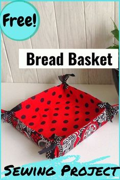Learn how to sew this bread basket in vibrant fabrics and jazz up your boring dining table. This is an easy DIY bread basket sewing pattern, which can be used on both sides. Easy and quick to whip up, this can be perfect as a beginner sewing project. #breadbasketsewingpattern #breadbasketpattern #breadbasketpatternsewingtutorials #diybreadbasket #diybreadbaskethowtomake #frenchbreadbasketpattern