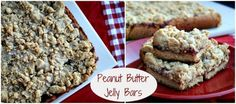 Mommy's Kitchen - Home Cooking & Family Friendly Recipes: Peanut Butter & Jelly Bars + More Back to School Lunch Box Ideas #BTS #BTSLunches #peanutbutter
