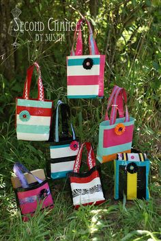 duct tape bags..great yw project