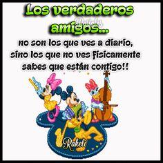 Postales Para Compartir.: LOS VERDADEROS AMIGOS!!