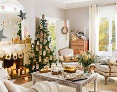 Tres estilos de Navidad en el salón ¿Cuál es el tuyo?