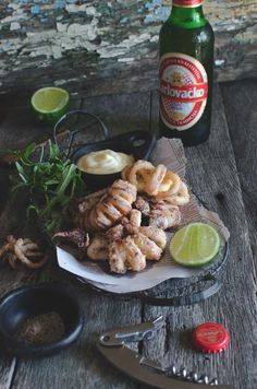Lignje sa soli i paparom {squid with salt & pepper} | heneedsfood.com
