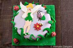 Tinkerbell Cake - www.manusmenu.com