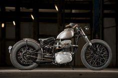 Best Bobber Motorcycle Photograph - Matt Storms