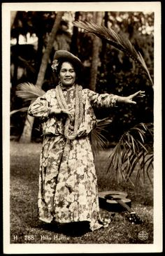 "Hilo Hattie (October 28, 1901 – December 12, 1979) was born Clarissa ""Clara"" Haili in Honolulu, Hawaii. She was a Hawaiian singer,[1] hula dancer, actress and comedienne of Native Hawaiian ancestry.[2]"