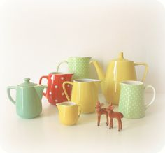 jugs, pitchers and teapots