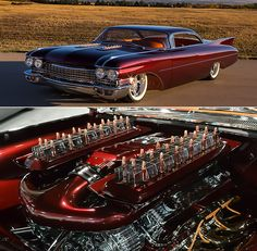 Meet the Copper Caddy, Kindig-it Design Smokin' Hot 1960 Cadillac De Ville Riddled With Copper Bullets Copper Bullets, Riddles, Custom Cars, Cadillac, Building Design, Hot Rods, Meet, Bmw, Car Tuning