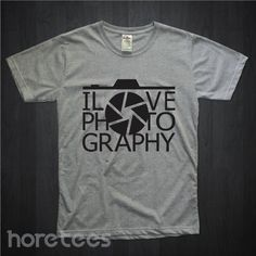 i love photography defragma dari tees.co.id oleh Hore Tees