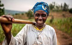Valerie Mukangerero walks to her pineapple farm in Rwamurema village, eastern Rwanda. Pineapple Farm, Global Citizenship, Strategic Planning, Climate Change, Walks