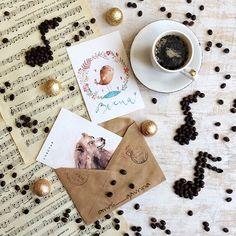 Good morning☕️ Утро не может не радовать, когда находишь в почтовом ящике волшебный конвертик✉️ от замечательной семьи @zenkinamariya Маши, Дианы и Тимофея! Спасибо вам огромное, открытки просто прелесть Вы сделали мое утроМой почтовый привет уже на пути к вам!✉️#coffee#coffeecup#caffeine#coffeaddict#coffee_inst#coffeebreak#coffeelover#instacoffee#coffeeandseasons#cups_are_love#onmytable#onthetable#moodofmytable#storyofmytable#styleonmytable#postcard#postcrosser#postcardgram#coffe...