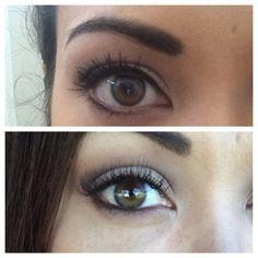 Before and after #minkeyelashextensions  #minkeyelash #eyelash