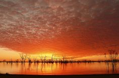 Lake Pamamaroo, Menindee Lakes, New South Wales.