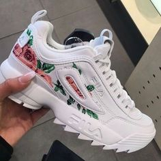 Fila Women's Sneakers and Tennis Shoes - Macy's Sneakers Mode, Cute Sneakers, Sneakers Fashion, Fashion Shoes, Shoes Sneakers, Shoes Heels, Sneakers Workout, Converse Shoes, Kids Fashion