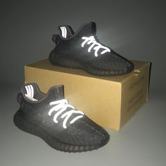 Visit the post for more. Yeezy Boost 350 Black, Yeezy 500, Black Adidas, New Product, 350 V2, Adidas Sneakers, Shoes, Fashion, Display