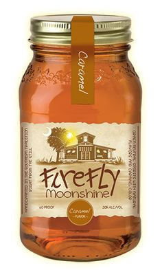 Firefly Caramel Moonshine. Mixed this with an Angry Orchard hard cider and it was yummmmmy. Just like a caramel apple in a glass!
