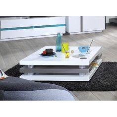 In our robust collection of contemporary coffee tables you are able to find everything you are looking for! Black gloss coffee tables, modern ones, solid wood tables! Coffee Tables Uk, Table Decor Living Room, Contemporary Coffee Table, Solid Wood Table, Center Table, Home Furniture, Table Decorations, Interior, Home Decor