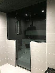 Sauna, Bathroom Lighting, Bathtub, Mirror, Koti, Closet, House, Furniture, Decorating
