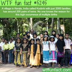 Twins village in India - WTF fun facts