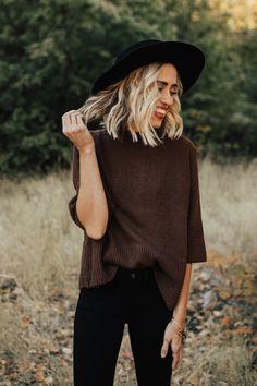 Hadley Zipper Back Sweater | ROOLEE