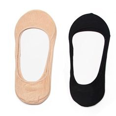 Women's 4-Pair Pack - Cotton No-Show Socks *Non Slip*(Available in 2 Colors) -- This is an Amazon Affiliate link. Continue to the product at the image link.