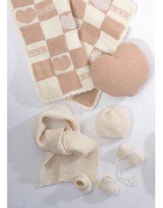 0518dffbb315 Modèle plaid CB10-43 - Patron tricot gratuit Bonnet Bébé Crochet, Tricot Et  Crochet