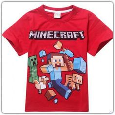 Minecraft T-shirt Red