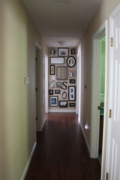 Love this for the hallway!  Also some home renovation before/after pics on this blog.