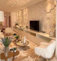 Home Room Design, Home Office Design, Home Interior Design, House Design, Living Room Inspiration, Home Decor Inspiration, Cozy Living Rooms, Living Room Decor, Living Room Tv Unit Designs