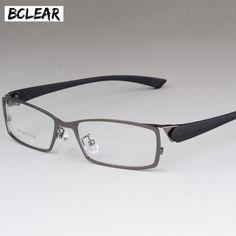 e8abaa46dcf Bclear New Style Men Eyeglasses Frame High-End Business Male Eye Metal  Spectacle Frames Comfortable Men S Myopia Frame Glasses